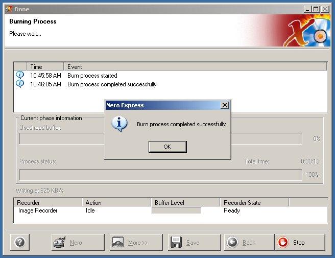 partition logic user manual burning with nero 6 rh partitionlogic org uk Nero Express 6 Windows 7 Nero 6 Windows 7